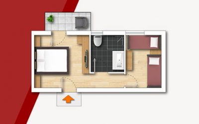 Grundriss Familienzimmer-30qm